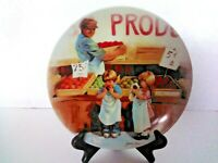 """Friends I Remember"" 1985 Fringe Benefits Knowles 5th Issue Collector Plate"