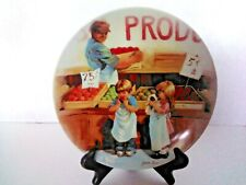 """""""Friends I Remember"""" 1985 Fringe Benefits Knowles 5th Issue Collector Plate"""