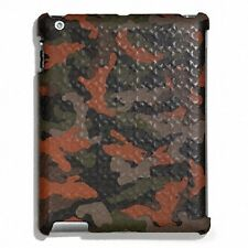Coach Heritage Signature Fatigue/Orange Camo IPad Case Cover (F64219) - $128