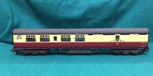 Bachmann 34-450 Thompson 63ft brake 2nd coach E1925E BR red+cream OO Gauge