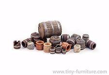 Barrels kit - D&D, Mordheim, dungeon terrain, dwarven forge, pathfinder, rpg