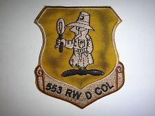 Vietnam War Patch Us 553rd Reconnaissance Wing At Korat Royal Thai Air Base