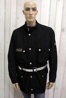 BELSTAFF Uomo Taglia 2XL Coat Giubbotto Blu Cappotto Jacket Man Jacke Trench