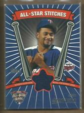 2005 Topps Update All-Star Stitches #JS Johan Santana Jersey