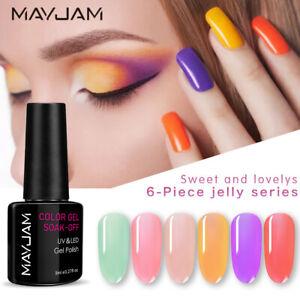 MAYJAM UV LED Soak-Off Gel Nail Polish Colour Manicure 10ml Collection DIY Gift