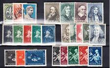 Nederland 293 - 317 de Jaargangen van 1937/38 ongebruikt