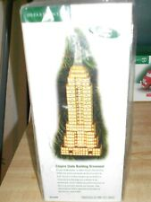 Dept 56 Christmas In The City Accessory Empire State Building Ornament Nib *Read