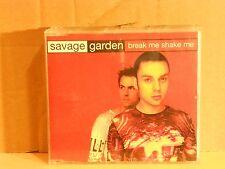 SAVAGE GARDEN - BREAK ME,SHAKE ME 3 tracks verison + I WANT YOU - cds 1998