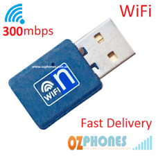 Ralink 300 Mbps USB Wireless WiFi Dongle Adapter Card Modem 802.11 + CD Win10✔️
