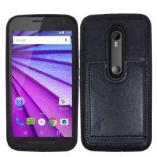 Fundas y carcasas color principal azul para teléfonos móviles y PDAs Motorola