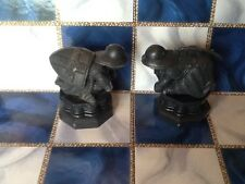 Harry Potter Wizards Chess Game Replacement Piece 2002 Lot of Two(2) Black Pawns
