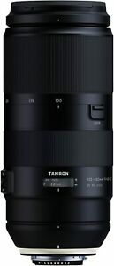 TAMRON Super Telephoto Zoom Lens 100-400mm F4.5-6.3 Di VC USD for Nikon New