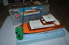 Schuco 763382 Motor yacht RC 65 cm long very near mint in box OVP sehr SELTEN