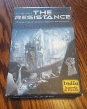 The Resistance Indie Boards & Cards Don Eskridge's
