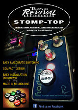 Tone Revival Engineering STOMP TOP Classic 4 Pack (BlackWhiteRedBlue)