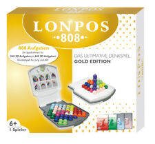 Original LONPOS 808 Aufgaben Gold Edition Gehirntrainer 2D + 3D Reisespiel NEU