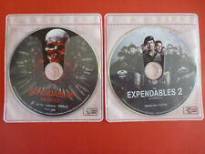 The Expendables 1 & 2 DVD Discs ONLY Bilingual