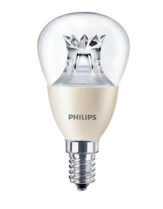 PHILIPS MASTER LED LUSTER / GOLF BULB, 6W=40W, WARM, *DIMTONE*, SES E14