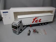 DV8217 ELIGOR 1/43 VOLVO FH RESTYLE SEMI TAUTLINER TRANSPORTS TEE 114250