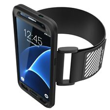 SUPCASE SUP-GALAXY S7 ADJUSTABLE FIT ATHLETIC SPORTS ARMABND. BLACK.