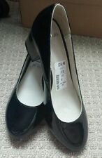 Medium (B, M) Width Wet look, Shiny Formal Heels for Women