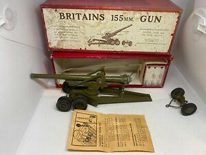 Britains 2064 155mm Gun Boxed
