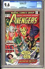 Avengers #139  CGC 9.6 WP NM+ Marvel Comics 1975 Iron Man Thor Beast Whirlwind