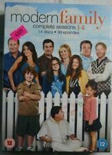 """Modern Family"" Complete Seasons 1 To 4 On Fourteen DVD's 96 Episodes"