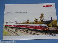 Marklin Catalogue 2006  Gauge Z Mini Club
