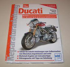Reparaturanleitung Ducati Monster S4, S4R, S4RS Desmo, Wasserkühlung - ab 2001!