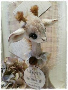 Mohair/ Giraffe Pattern 11,5 inch