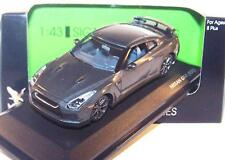 Road Signature Series 1:43 Nissan GT-R (R35) Metallic Grey Coupe 2+2 Muscle Car