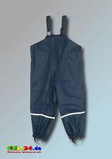 Playshoes Regenlatzhose Textilfutter marine Größe 80
