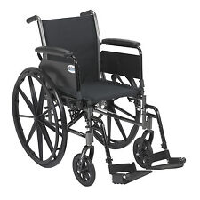 Drive Medical K318DFA-SF Cruiser III Light Weight Wheelchair with Flip Back Remo
