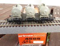 Primex 4585 Primex 2000 Behälter-Tragwagen Containerwagen der DB Märklin in OVP