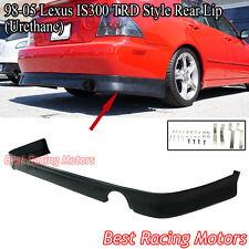 TR Style Rear Lip (Urethane) Fits 01-05 Lexus IS300 4dr