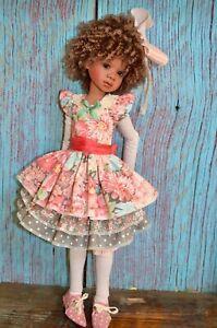 """Spring Dress set for Kaye Wiggs MSD BJD, Missy, MeiMei, etc.."