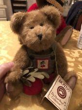 Boyd's Bears Plush Teddy Radish Bear Radcliff Moveggie With Tag