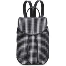 Steve Madden Bounce Small Backpack, Black/White $98