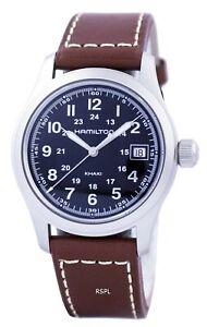 Hamilton Khaki Field Black Dial H68411533 Men's Watch