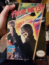 NECA Friday the 13th Jason Voorhees Retro 8Bit NIB. Music does not work.