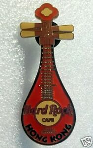 HARD ROCK CAFE HONG KONG PIPA RED PIN LE300