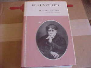 H P Blavatsky / COLLECTED WRITINGS  ISIS UNVEILED 1974