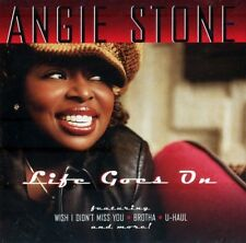 ANGIE STONE - LIFE GOES ON - New Factory Sealed CD