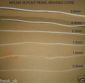Bathroom Shower Blind Picture hanging Light pull Nylon cord .5 1 1.5 2 3 mm x 1M