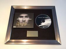 PERSONALLY SIGNED/AUTOGRAPHED AFROJACK -FORGET THE WORLD FRAMED CD PRESENTATION.
