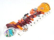 Kinder Gürtel mit Werkzeugkoffer mit Helm 10teilig - Werkzeug - Hammer Zange