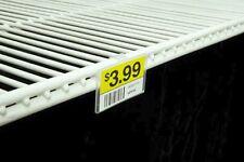 Label Holder for Wire Freezer/Cooler Shelf - Pack of 50