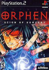 Orphen: Scion of Sorcery (Sony PlayStation 2, 2000) - European Version
