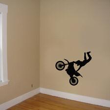 MotoCross decal, Motocross Stickers room decor, Moto cross room decor silhouttes